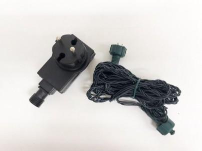 Napojovací LED světelný řetěz FDL 100 Microleds teplá bílá s trafem 37580 č.2