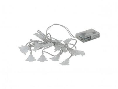 LED světelný řetěz Eglo LED chain stromečky zelené 75102