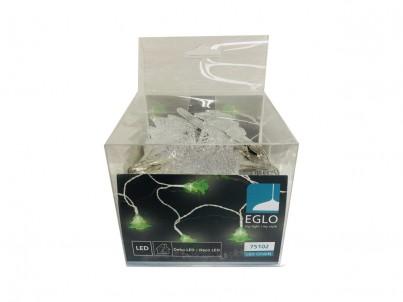 LED světelný řetěz Eglo LED chain stromečky zelené 75102 č.2