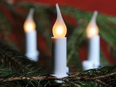 Vánoční vnitřní klasická souprava 162017 SV16 GLORIA bílá 16 žárovek 14V/0,1A Exihand