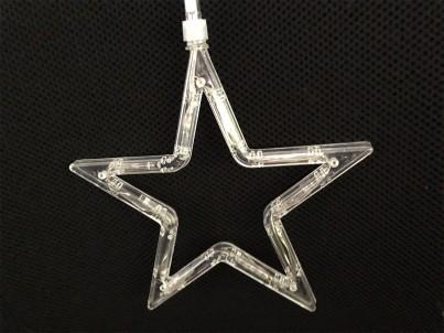 LED vánoční světelná dekorace HS Hvězda KID 411 8xLED