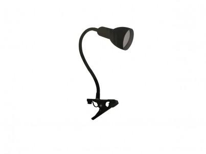 LED skřipcová stolní lampička Nipeko HC002 černá