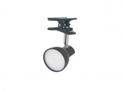 LED skřipcová stolní lampička Nipeko HC001 černá