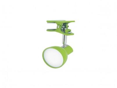 LED skřipcová stolní lampička Nipeko HC001 zelená