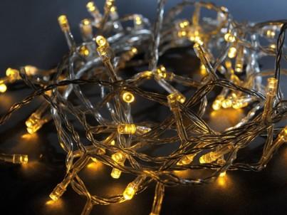 LED vánoční řetěz Exihand 171200.TB  200xLED  30 m teplá bílá