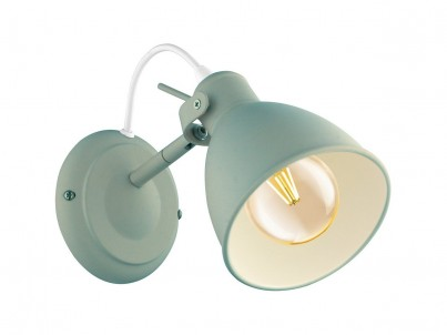 Nástěnné svítidlo Eglo Priddy-P 49096 světle zelená