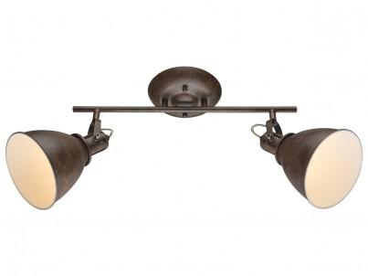 Nástěnné nebo stropní svítidlo Globo Giorgio 54647-2 hnědá