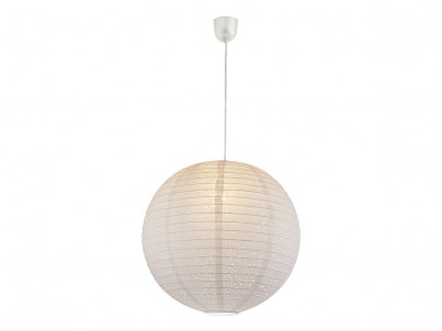 Závěsné stropní svítidlo Globo Varys 16911 bílá, papír