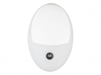 Noční lampička do zásuvky Globo Chaser 31934W bílá