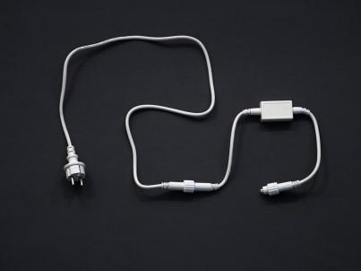 Napájecí zdrojový kabel MK Illumination 001-012 bílá