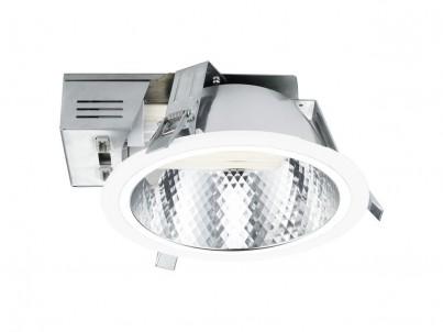 Zápustné svítidlo Eglo Xara 89089 bílá a chrom průměr 220 mm č.1