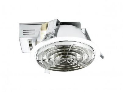 Zápustné svítidlo Eglo Xara4 89094 bílá a chrom průměr 220 mm č.1