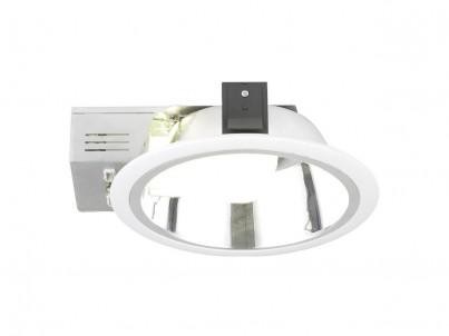 Zápustné svítidlo Eglo Xara3 89096 bílá a chrom průměr 235 mm č.1