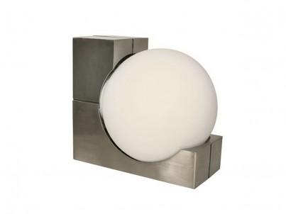 Venkovní nástěnné svítidlo Eglo Ohio 89314 matný chrom č.1