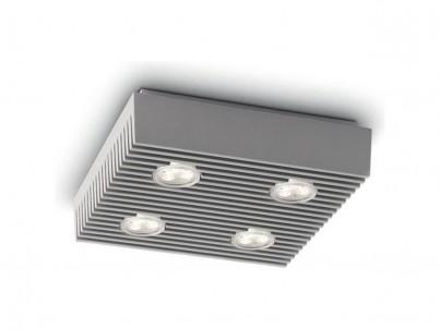 LED stropní svítidlo Philips Ledino 31602/87/16 šedá