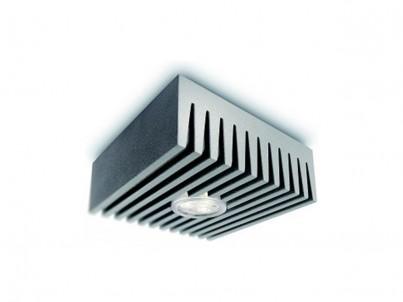 LED stropní svítidlo Philips Ledino 31603/87/16 šedá