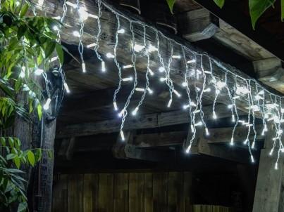 LED vánoční světelné krápníky decoLED ILN0305 ledově bílá