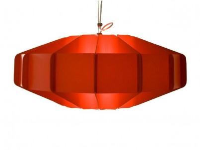 Závěsné stropní svítidlo Kafti Alien červená + závěs