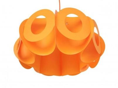 Závěsné svítidlo Kafti Oval 0050 oranžová