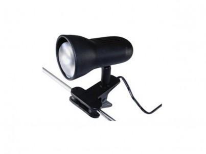 Skřipcová lampička Argus light Tipo 50021/KL černá