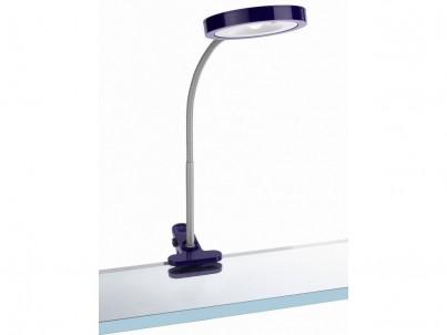 Skřipcová LED lampička Massive Philips Studio 67411/96/10 fialová