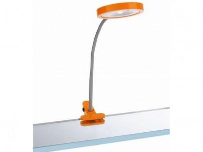 Skřipcová LED lampička Massive Philips Studio 67411/53/10 oranžová