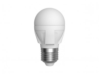 LED žárovka Skylighting Globe 10/S E27/6W/studená bílá č.1