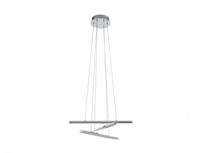 LED závěsné svítidlo Eglo Terros 93572 lesklý chrom stmívatelné č.1