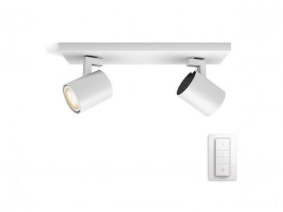LED bodové svítidlo Philips Hue Runner 53092/31/P7 bílá, stmívatelné