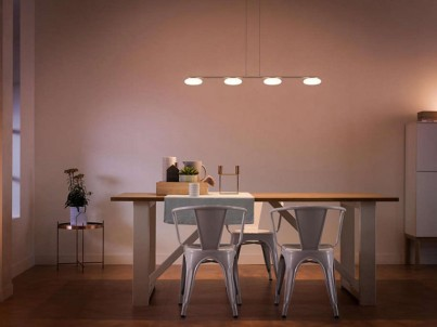 LED závěsné svítidlo Philips Tarbert 37216/48/16 matný chrom č.2