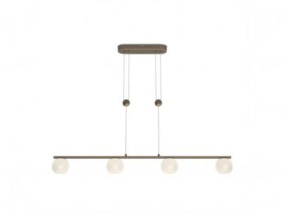 LED závěsné svítidlo Philips Varande 36697/06/16 béžová, bronzová č.1