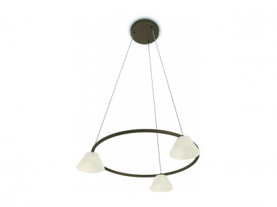 LED závěsné svítidlo Philips Myliving Vendee 36037/06/16 bronzová č.1