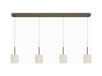 LED závěsné svítidlo Philips Instyle Ortega 37307/06/16 bronzová č.1