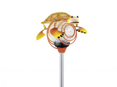 Solární lampa želva Eglo 47635 oranžová