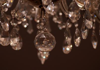 Jak vyčistit křišťálový lustr?