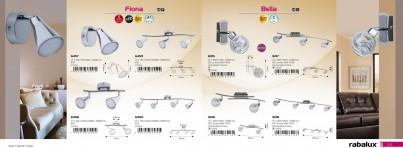Nástěnné bodové svítidlo BELLA 6015 1x40W G9 Rabalux - kolekce
