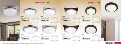 Stropní přisazené svítidlo PRINCESSA 3662 60W E27 Rabalux - použití