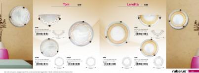 Stropní přisazené svítidlo TOM 3484 2x60W E27 antik Rabalux - interiér