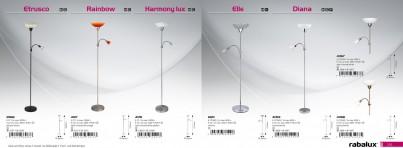 Stojací lampa Rabalux Diana 4059 lesklý chrom č.3