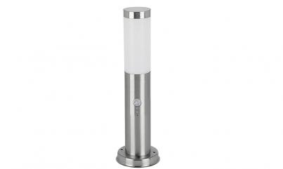 Venkovní sloupkové svítidlo INOX TORCH 8267 60W E27 se senzorem Rabalux