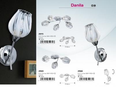 Stropní přisazené svítidlo DANILA 2969 3x60W E27 Rabalux